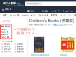 Amazon英語絵本