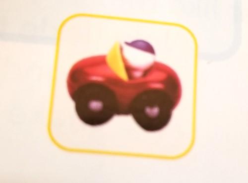DWEプレイアロングMyLittleCar車のオモチャ代替品