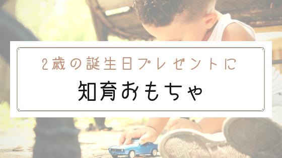 【ブログ】2歳の誕生日プレゼントにおすすめの知育おもちゃ