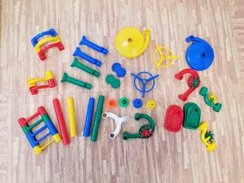知育おもちゃ『くもんのくみくみスロープ』レビュー