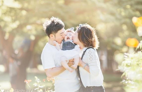 Lovegraph(ラブグラフ)で撮影できる家族写真