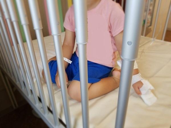 子供の入院用ベッド