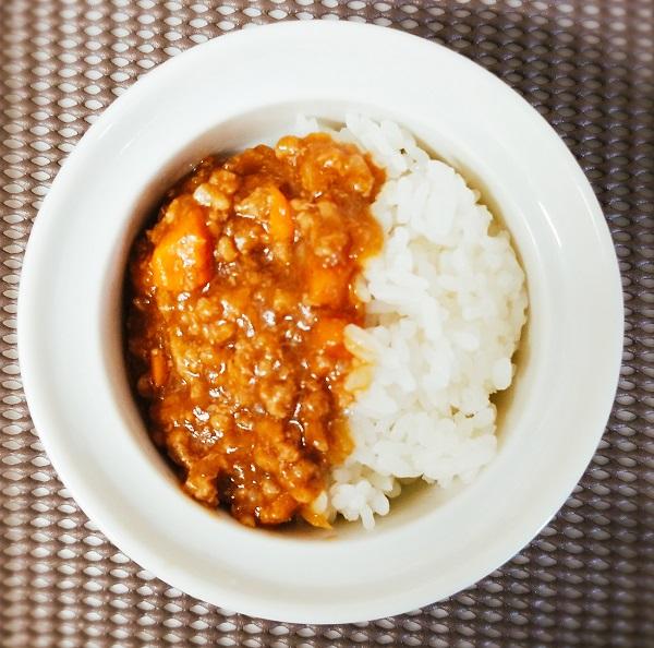 山本ゆりさんの電子レンジ時短レシピ「キーマカレー」作ってみた