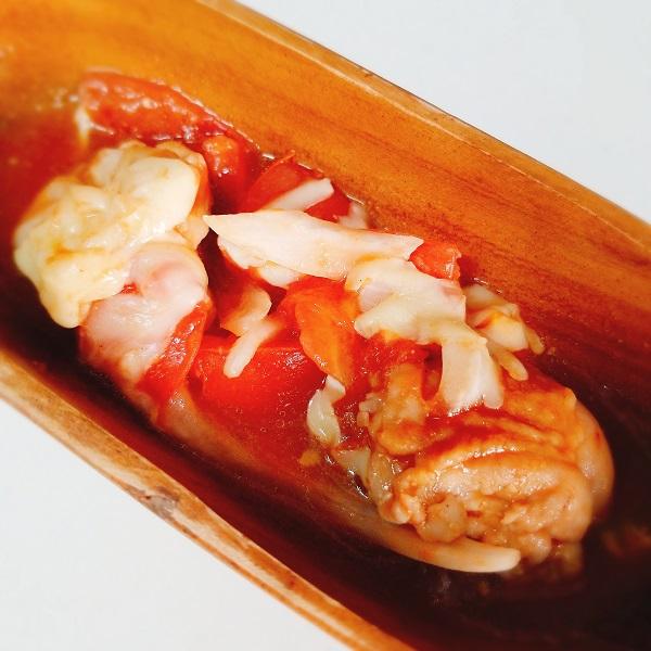 山本ゆりさんの電子レンジ時短レシピ「絶品チキンのトマト煮」作ってみた