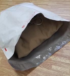 エアークローゼット返却用の袋