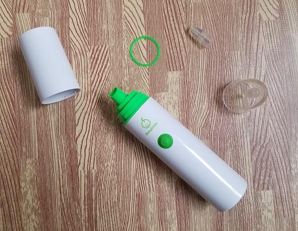 ベビースマイル電動鼻水吸引器のパーツ
