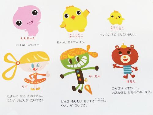 幼児ポピーきいどり(年少)キャラクター